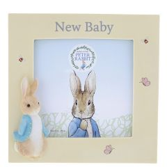 Peter Rabbit New Baby Photo Frame