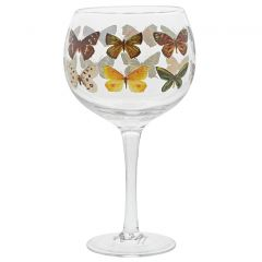 Butterflies Copa Gin Glasses - Set of Two