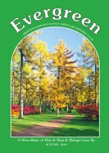 Evergreen single issue - Autumn 2019