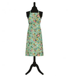 Blue Chintz Cotton Apron