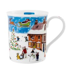 Alison Gardiner Fine Bone China Christmas Mug