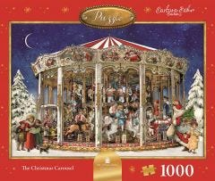 The Christmas Carousel Jigsaw Puzzle