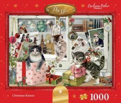 The Christmas Kittens Jigsaw Puzzle