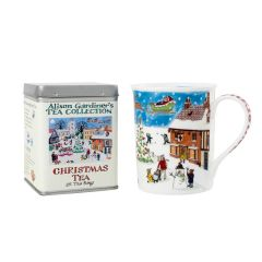 Alison Gardiner Christmas Mug & Tea Caddy Pack