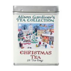 Alison Gardiner Christmas Tea Caddy