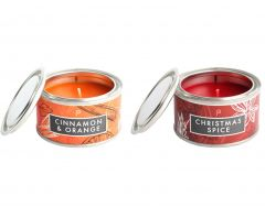 Cinnamon & Orange and Christmas Spice Candle Pack
