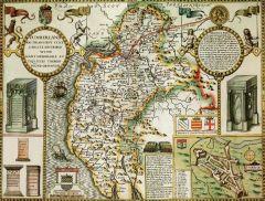 Cumberland Historical Map 1000 Piece Jigsaw Puzzle (1610)