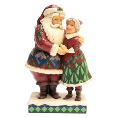 Cutest Christmas Couple (Santa and Mrs Claus Figurine)