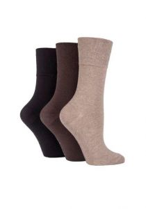 Ladies Gentle Grip Diabetic Socks