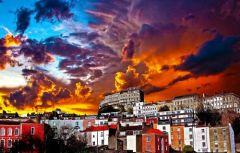 Dramatic Sunset Jigsaw