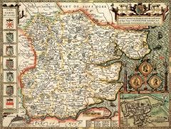 Essex Historical Map 1000 Piece Jigsaw Puzzle (1610)