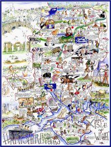 Hampshire Jigsaw by Tim Bulmer