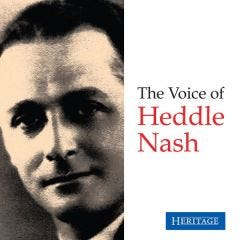 The Voice of Heddle Nash CD