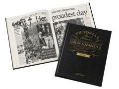 Personalised Queen Elizabeth II Pictorial Book