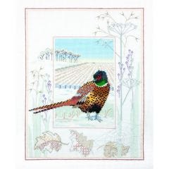 Pheasant Counted Cross-Stitch Kit