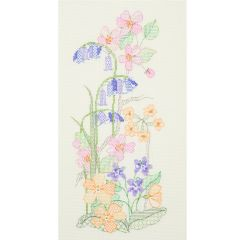 Summer Floral Counted Cross Stitch Kit