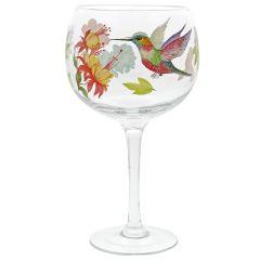 Hummingbird Gin Copa Glasses