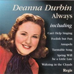 Deanna Durbin: Always Greatest Hits CD