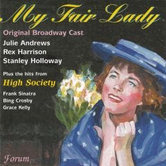 My Fair Lady: Original Cast Recording and Hits from High Society CD