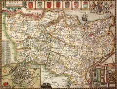 Kent Historical Map 1000 Piece Jigsaw Puzzle (1610)