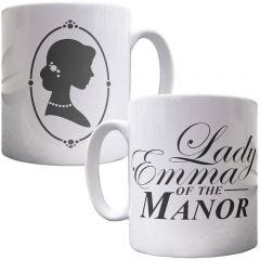 Personalised Lady of the Manor Mug