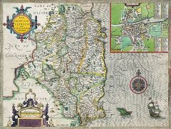 Leinster Historical Map 1000 Piece Jigsaw Puzzle (1610)
