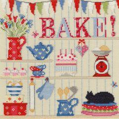 Bake! Cross Stitch Kit