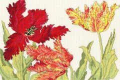 Tulips Cross Stitch Kit