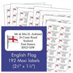 English Address Labels