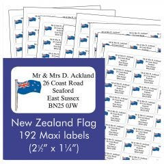 New Zealand Address Labels