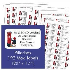 Pillarbox Address Labels