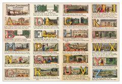 Railway Alphabet Jigsaw Puzzle