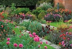 Summer Flowers at Chenies Manor Jigsaw Puzzle