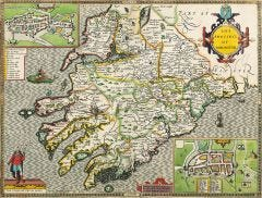 Munster Historical Map 1000 Piece Jigsaw Puzzle (1610)