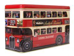 London Bus Walkers Biscuit Tin