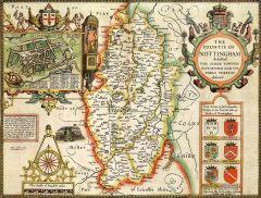 Nottinghamshire Historical Map 1000 Piece Jigsaw Puzzle (1610)
