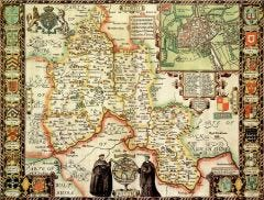 Oxfordshire Historical Map 1000 Piece Jigsaw Puzzle (1610)