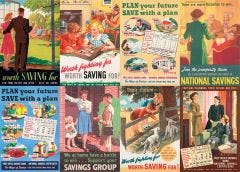 WW2 Savings in the 1940s Posters Jigsaw Puzzle