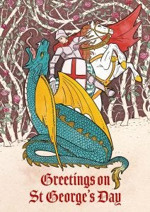 St. George's Day Cards