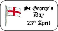 St George's Day Stickers