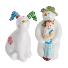The Snowman, Billy and the Snowdog Salt & Pepper Set