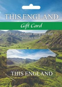 This England Subscription Gift Card