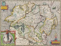 Ulster Historical Map 1000 Piece Jigsaw Puzzle (1610)