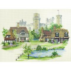 Warwickshire Village Counted Cross Stitch Kit