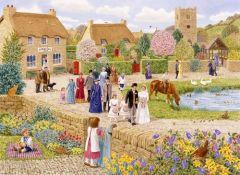 Village Wedding Jigsaw