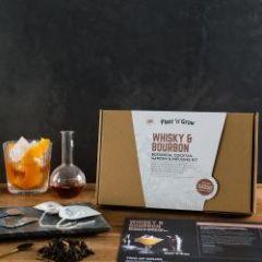 Whisky & Bourbon Botanical Cocktail Garden & Infusing Kit