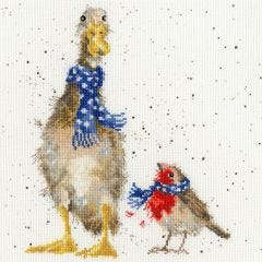Wrapped up for Winter Cross Stitch Kit