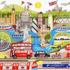 Counted Cross Stitch: London
