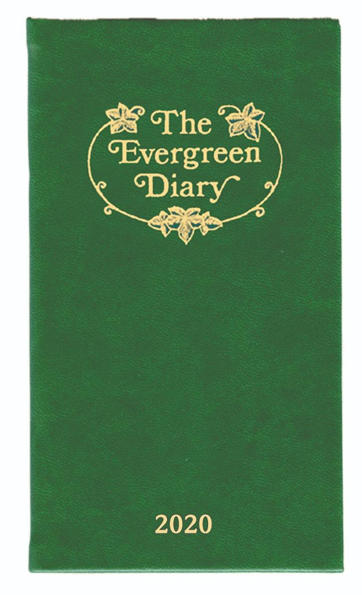 Evergreen Pocket Diary 2020