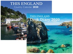 This England Country Calendar and Desk Diary 2020